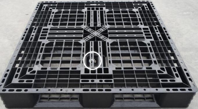 Pallet nhựa tĩnh điện KT: 1100x1100x150 mm