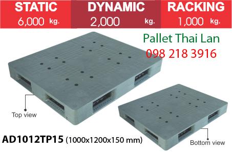 Pallet siêu chịu tải AD1012TP15