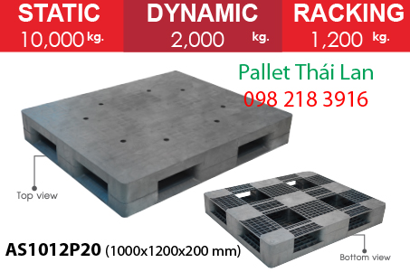 Pallet siêu chịu tải AS1012P20