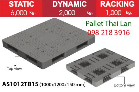 Pallet siêu chịu tải AS1012TB15