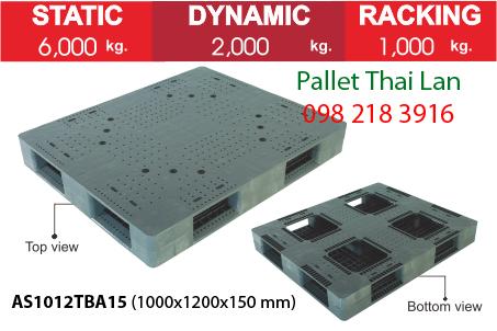 Pallet siêu chịu tải AS1012TBA15
