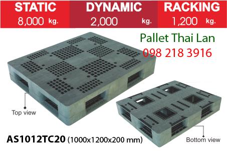 Pallet siêu chịu tải AS1012TC20