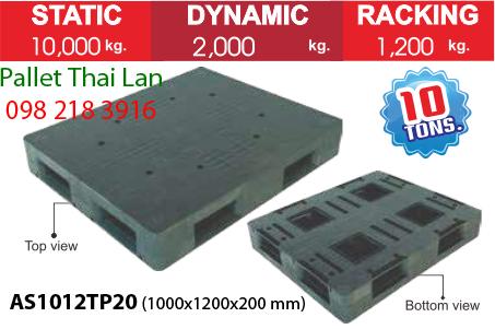 Pallet siêu chịu tải AS1012TP20