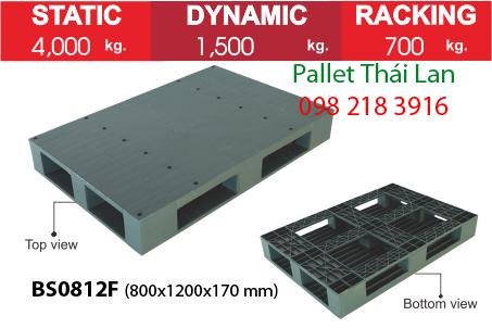 Pallet chịu tải BS0812F