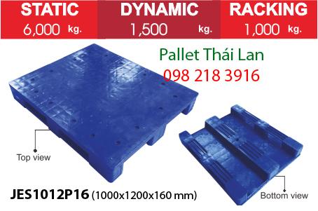 Pallet kháng khuẩn JES1012P16