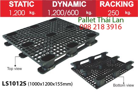 Pallet dùng trong xuất khẩu hàng LS1012S