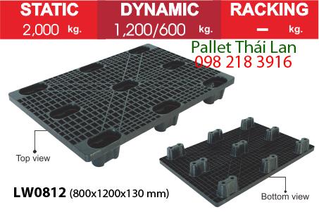 Pallet dùng trong xuất khẩu hàng LW0812