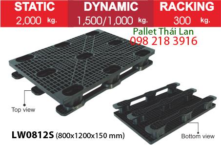 Pallet dùng trong xuất khẩu hàng LW0812S